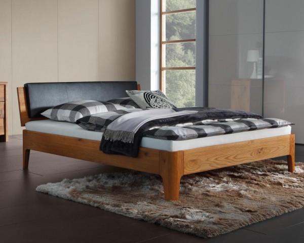 Wasserbett oder Gelbett komplett Oakline mit Varus Kopfteil + Polster inkl. Noro Füße