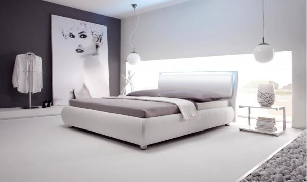 Wasserbett oder Gelbett komplett Dream Line Deluxe mit Odeon Kopfteil inkl. Stomp Füße